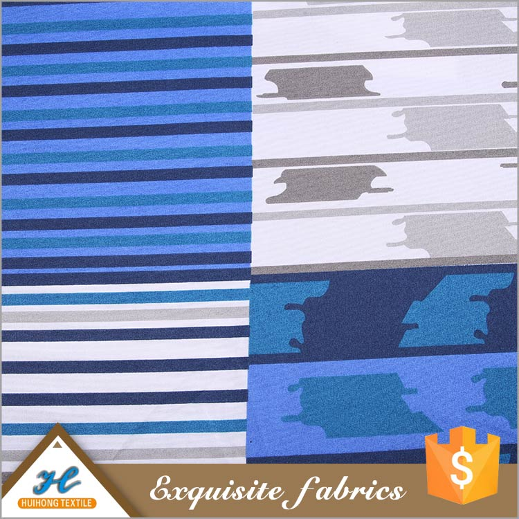 Best selling Bed sheet use Polyester java wax print fabric