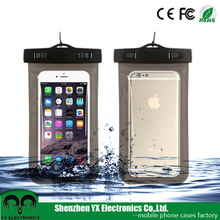 5.5 inch PVC driving beach swim mobile phone waterproof bag for iphone samsung