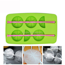 Q169 cute shapes Various colors creative ice cube tray with lid