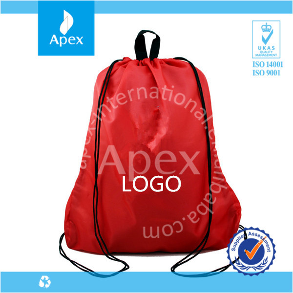 Promotional drawstring backpack shoes bag online