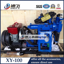 XY-100 portable borehole drilling machine for well drilling of home