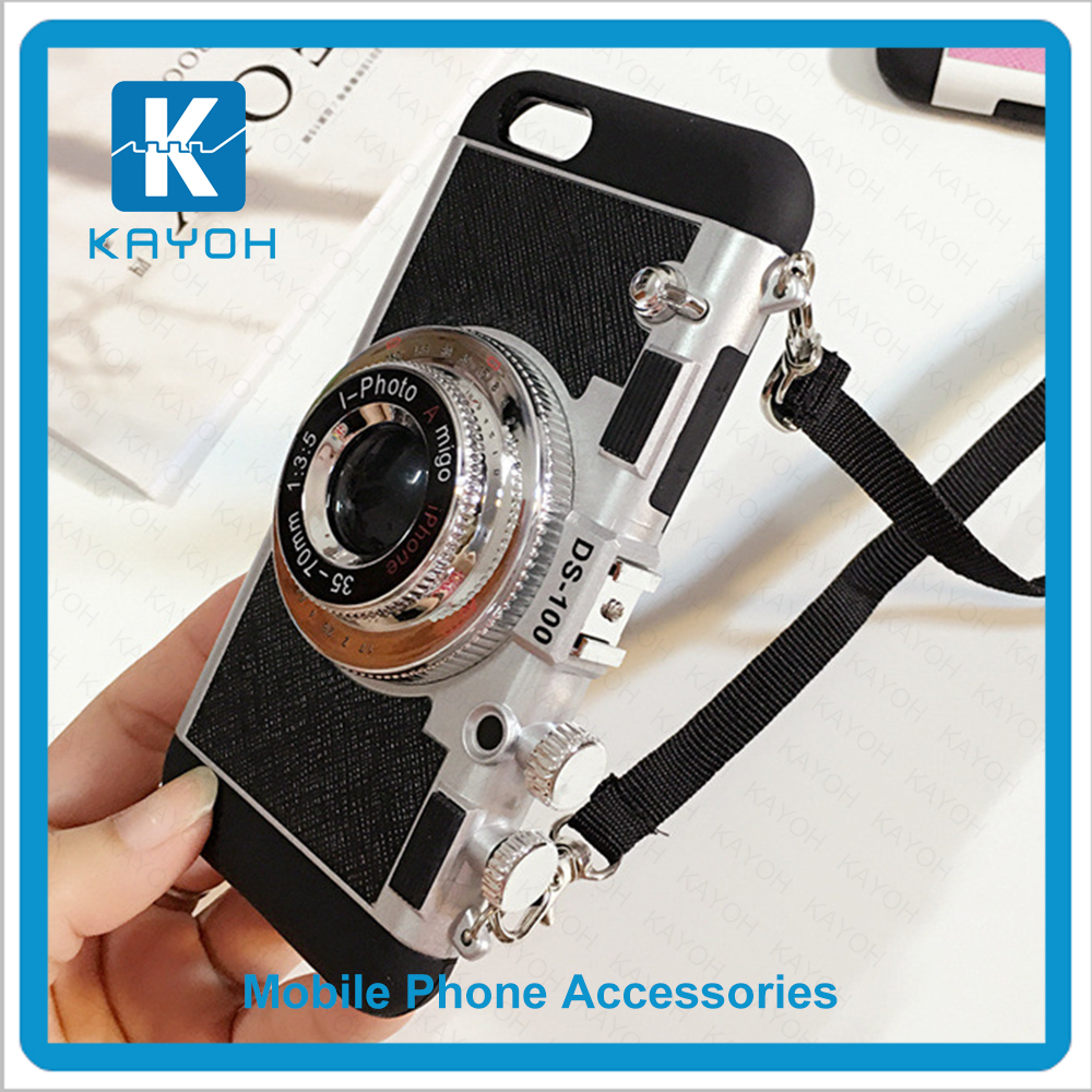 [kayoh]Camera lens style sublimation mobile back covers for iphone 6/6s wholesale cell phone <strong>accessories</strong>