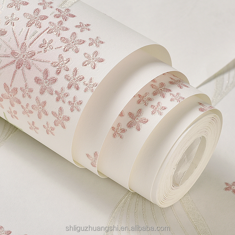 Non-woven wallpaper china bedroom wallpaper murals