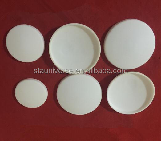 Look! STA high purity 99.8% various type Alumina cover for ceramic crucible
