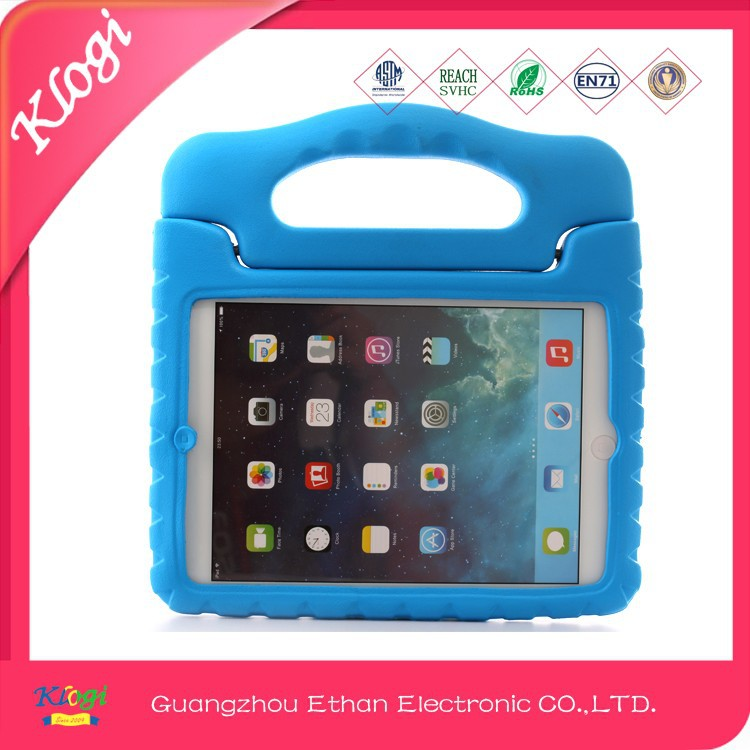 Kid's Light Weight EVA Drop-Proof tablet Case for iPad 9.7 inch Protective with Handles