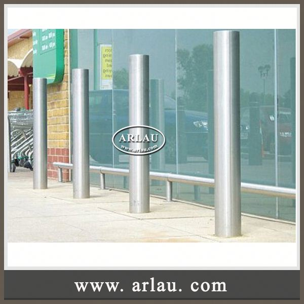 Arlau Rustic Furniture Wooden And Iron,Steel Retractable Bollard,Cast Iron Road Block