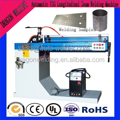 ZF-1200mm Automatic TIG Straight Seam Welding Machine
