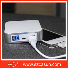 hot selling mobile power bank review with real capacity