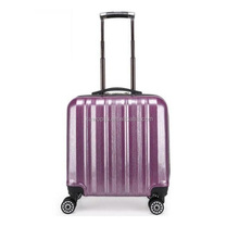 PC / ABS cabin crew 16 inch airport travel trolley wheel pilot bag