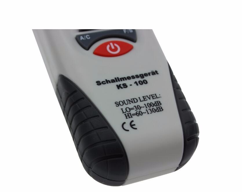 30~100 dB Integrated analog mini sound level meter