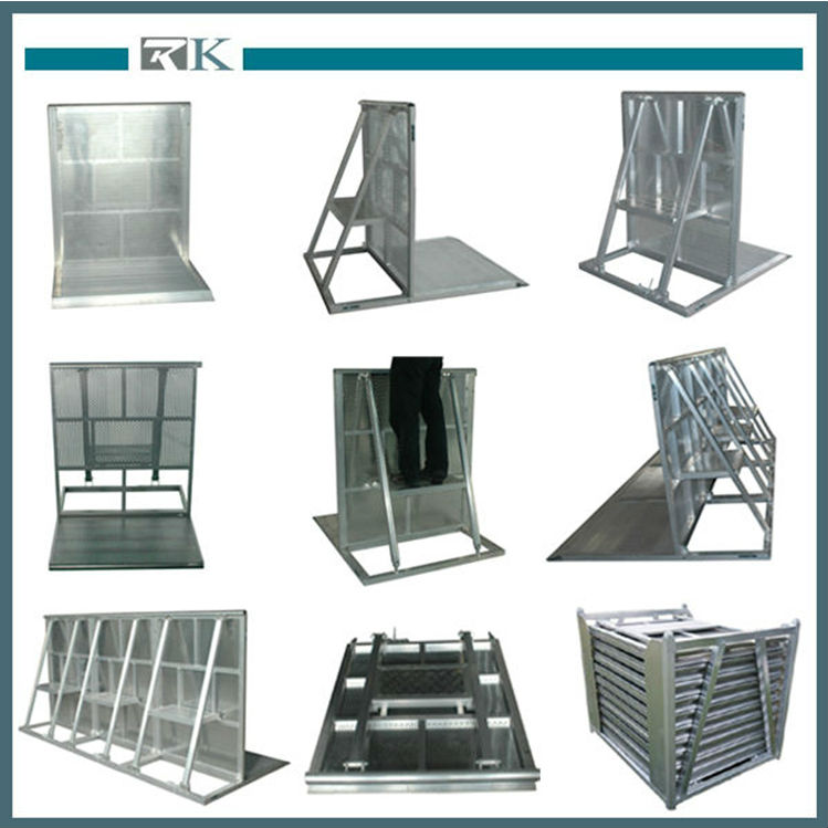 2014 Hot Sale High Quality Hot Dipped Galvanized Crowd Control Barrier Factory