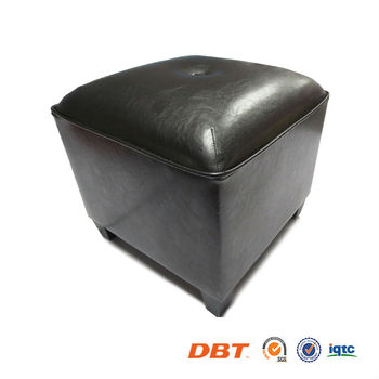 PU/ Faux Leather Square ottoman