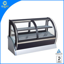 Hot selling pastry display refrigerator,used refrigerated display cases,pastry display cases