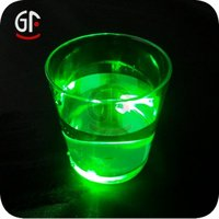 Factory Suppliers Clear Colorful Plastic Flashing Cup
