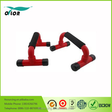 Body Solid Push-Up Bars Stands Pull Press Bar Foam Handle Home Exercise