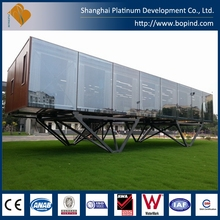 2016 Portable Prefab Cabin 20ft Container Office Finished For Sale