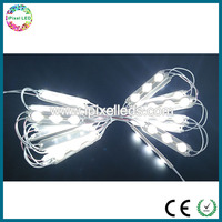 Single white color led injectiong module for sign box