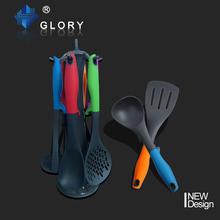 low price nylon utensils wholesale with kitchen tool hanging rack