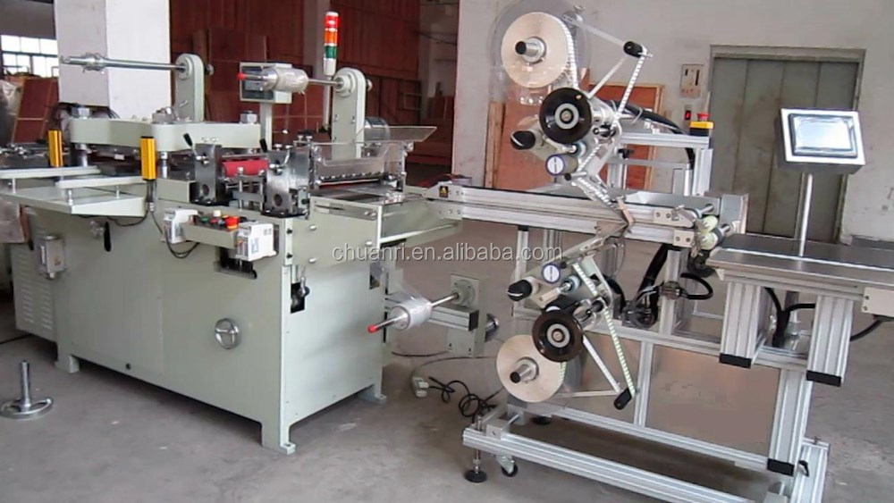 Mobile Screen Protector Cutting Machine (Die Cutting And Labeling)
