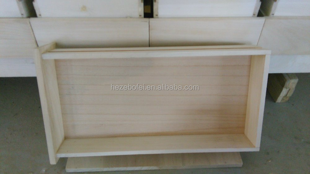 Paulownia panels for drawer backs and sides