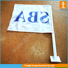 Low price polyester plastic car window flag pole
