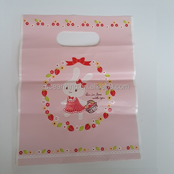 OEM manufacture shopping and gift laminated plastic package pouch