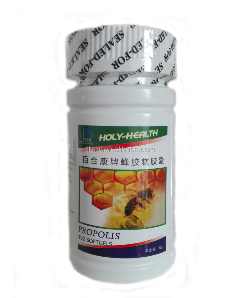 high grade Propolis Soft Capsules rich in nutrition
