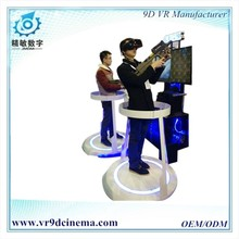 Arcade games machines 9D VR CS Shooting Game Simulator with free game download