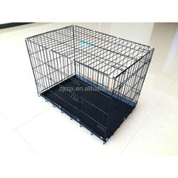 Hot sale folding metal pet cage dog crate manufacturer for overseas market