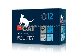 2015 Royal Blue Rctangular Packaging Poultry Food Printing Design Food Packaging Boxes for Sale
