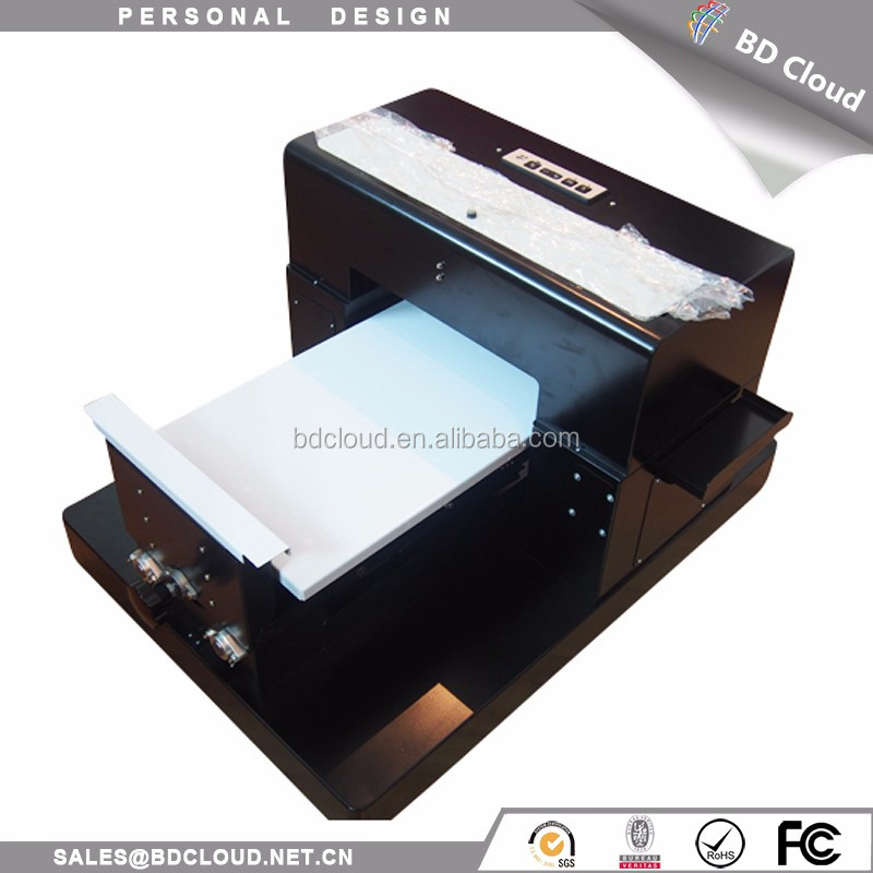 Desktop a3 small eco solvent printer price with ink cartridge