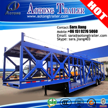 6/8 units Suvs Car Carrier Semi Trailer/Car Transporter Chassis With Hydraulic Lifting System