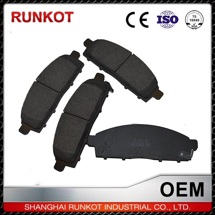 France Vehicle Spare Parts Brake Pad Manufacturers For Peugeot