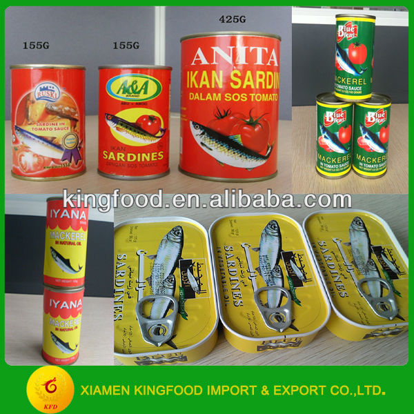 Canned fish canned food brand