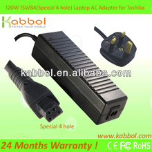 Brand New 120W 15V 8A original adapter, genuine laptop adapter for Toshiba Satellite P105-S900