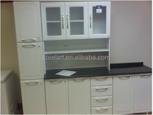 MDF metal kitchen cabinet door mdf panels