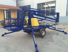 China articulating boom lift articulating manlift small boom lifts