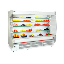 China manufacturer air curtain refrigerator/Hot sale open chiller/vegetable refrigerator for supermarkets