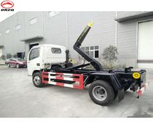 hook lift 5000 liters small garbage truck for sale