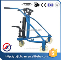 High Quality Hydraulic Oil Drum Truck/Lifter with 300kg Capacity, 280mm Lifting Height
