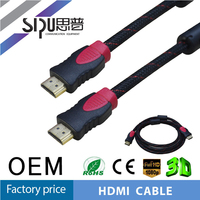 SIPU high quality 1.4v 1m hdmi cable for sale best price hdmi computert cable brand wholesale hdmi cable supplier