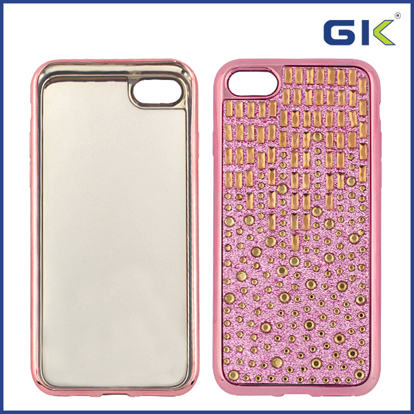 [GGIT] New Model With Diamdond Design Back Cover For IPhone 7 TPU Cell Phone Case