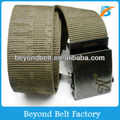 Beyond Fashion Printed Custom Cotton Woven Belt with Engraved Logo Buckle