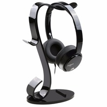 Factory Outlet Single-Black Acrylic Headphone Hanger Headphone Headset Display Rack Stand