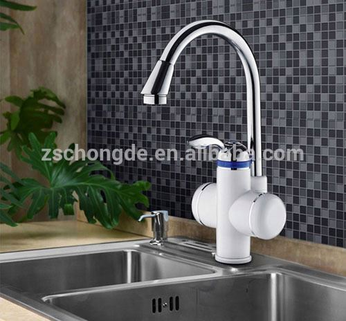 Quality and quantity assured Compact size bathroom electric shower faucet brand at home
