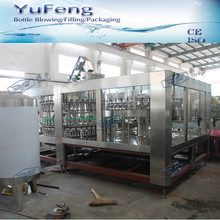 40 head glass bottle filling machine with recycling system