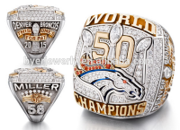 New Arrival !! Custom Replica NFL Super Bowl World Denver Broncos Championship Ring china