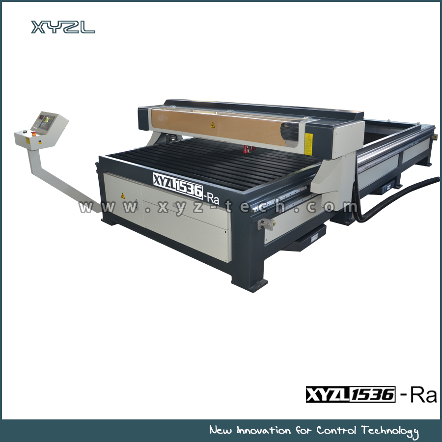 XYZL 1318/1325/1525/1530 large scale CO2 <strong>Laser</strong> cutting machine for Leather cutting