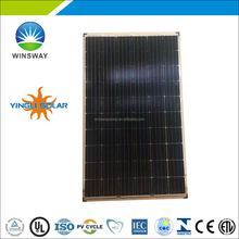 Cheap price stock panel CE/TUV/UL Certificate Yingli 280W Mono Solar Panel PV module double glass mono solar panel in stock