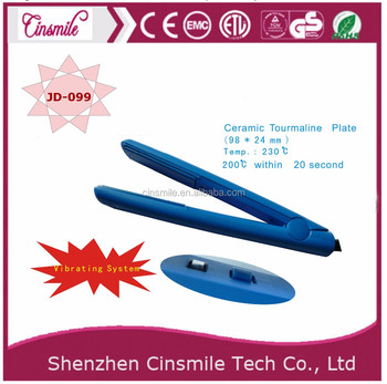 long life global beauty ceramic hair straightener gold iron hair by Cinsmile JD-099